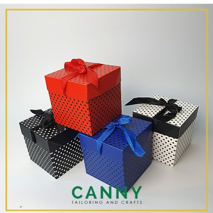 Gift Box for Present Bouquet Flower Fruits Size S, M and L / Kotak Gift Bouquet Bunga Size S , M and L (1 pcs)