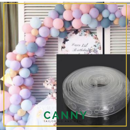 5 Meters Balloon Chain Double Hole for Decoration / Tali Belon Untuk Deko 5 Meter