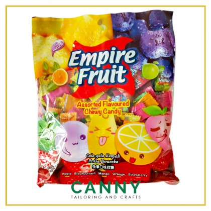 EMPIRE FRUIT CHEWY MIX FLAVOUR CANDY 500G