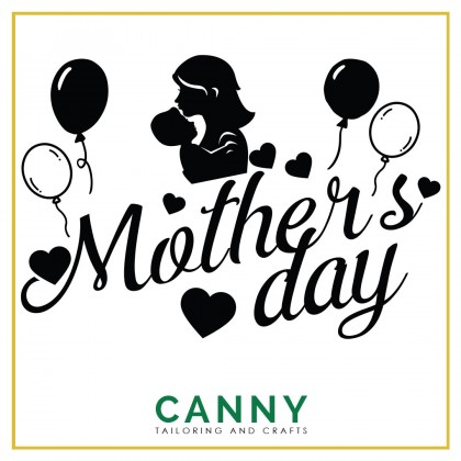 CUSTOMIZED BALLOON STICKER - HAPPY MOTHERS DAY WORD A4 . A5 SIZE ( 1 PCS)