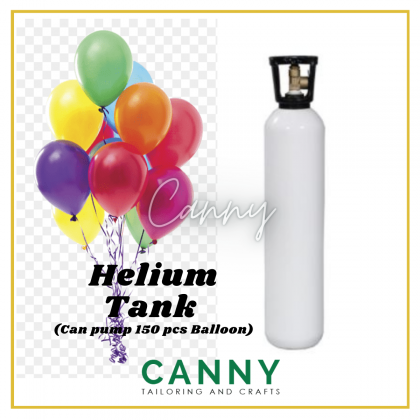 [RENTAL] BALLOON HELIUM TANK WITH HELIUM GAS FOR APPROX 150PCS [RENTAL -MELAKA ONLY)