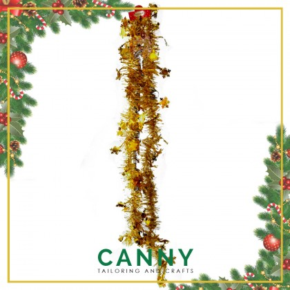 CHRISTMAS TINSEL 2 METER FOR DECORATION / CHRISTMAS SNOW TINSEL (2 METERS)