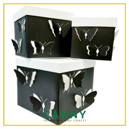 PREMIUM 3D GIFT BOX WITH COVER / SURPRISE BOX / GIFT BOX / FLOWER BOX [W7813] (1 PCS / SET)