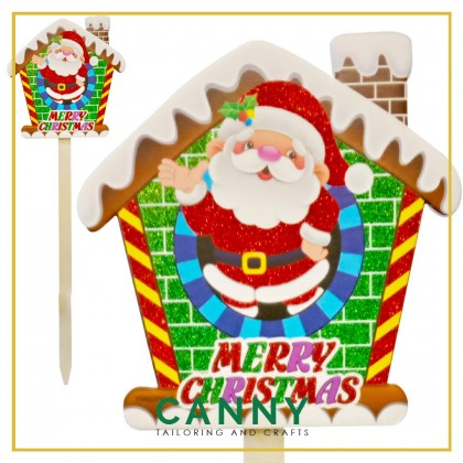 [CHRISTMAS 2020 - SHIP FROM MALAYSIA] - CHRISTMAS LARGE TOPPER DECORATION / CHRISTMAS DECORATION STAND