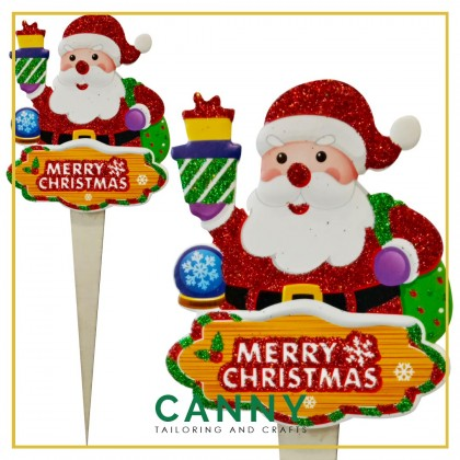 [CHRISTMAS 2020 - SHIP FROM MALAYSIA] - CHRISTMAS SMALL TOPPER DECORATION / CHRISTMAS DECORATION STAND