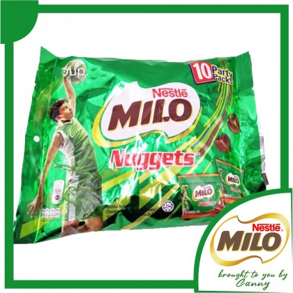 Milo Nuggets 75 / 15g x 12 pack / 10 fun pack 15g