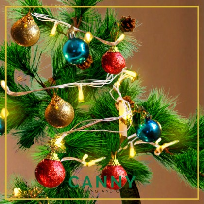 [FREE DECORATION ORNAMENT & LED ] MODERN REAL LOOK CHRISTMAS TREE FOR DECORATION 4 FEET