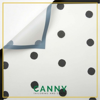 20 PCS POLKA DOT WRAPPING PAPER / BOUQUET PAPER / FLORIST PAPER / WATERPROOF WRAPPING [WP-F005]