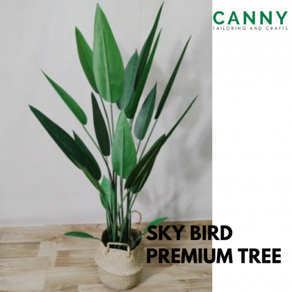 [FREE SEAGRASS BASKET] SKYBIRD PREMIUM LEAVES 120CM WITH PREMIUM BASKET