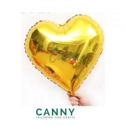 (10 PCS) 10 INCH FOIL BALLOON LOVE SHAPE / BELON BENTUK LOVE 10 INCI (10 PCS)