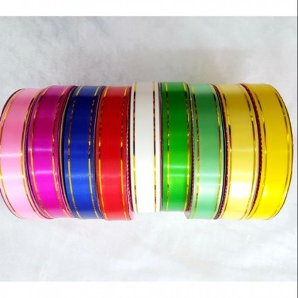 PVC Ribbon 18mm Assorted Colour 1roll