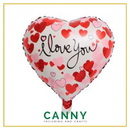 "18"" Foil Balloon I Love You / Happy Valentines Day 1 pcs / Belon Foil 18"" I Love You 1 pcs"